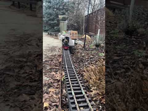 G scale C-16 Garden Railroad (smoke and sound) Aristocraft #shorts
