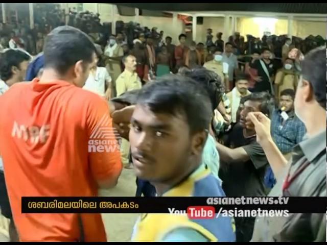 Sabarimala pilgrims injured in stampede, IG Sreejith submit report  Sabarimala 2016