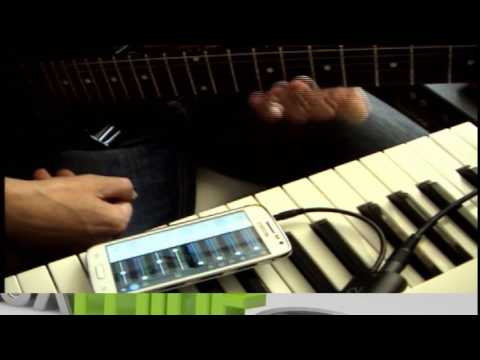 Rigg2 & Music Maker jam  looper Android phone soft: test 2
