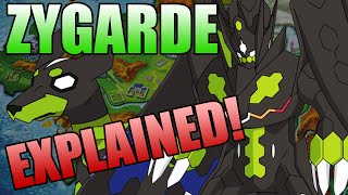 Zygarde Complete Storyline! Everything About Zygarde's Formes Explained!