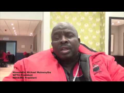 Statements of African trade-unionists for the 3rd WFTU Pan-A