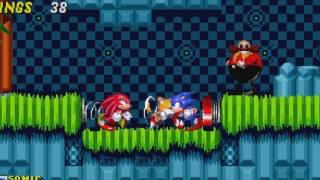 Original Sonic Game Vs Sprite Animation !