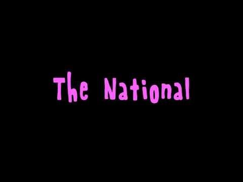 The National: Pink Rabbits (lyrics on-screen)