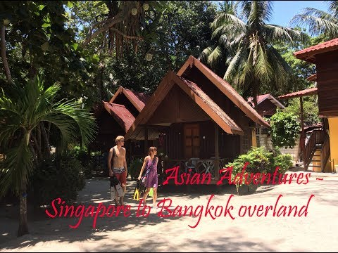 Von Singapur nach Bangkok mit Bus & Bahn. Perhentian Besar & Backpacking in 5* locations!