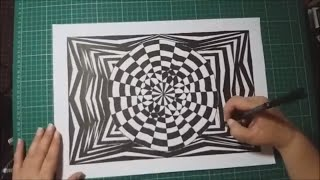 Geometric Art with Artist Janette Oakman 20 - Symmetric / Geometry / Mandala / Optical Illusion