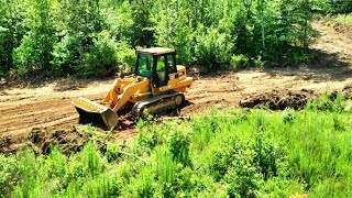 Making progress clearing HIDDEN FIELDS on the farm! Land Clearing ideas for you!