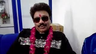 Nadeen-shravan fem shravan rathore interview with patrika TV at painter Ajay office