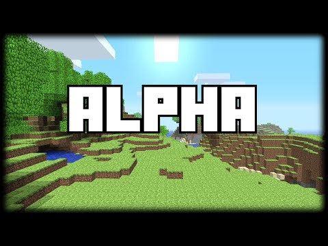 OLD SCHOOL MINECRAFT - BACK TO THE PAST (Alpha build - Oct, 2010)