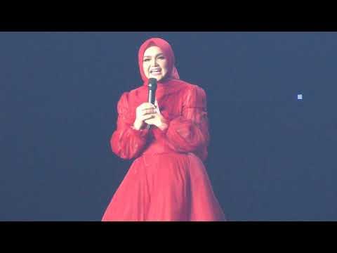 Tanpa Muzik, Siti Nurhaliza Nyanyi Lagu Permintaan Peminat
