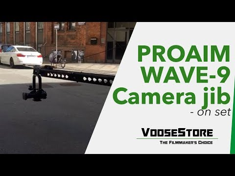 Proaim Wave-9 video camera JIB crane