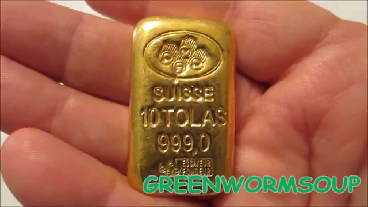 Pamp Suisse 10 Tola 3 75 Ounce Gold Bar Apmex