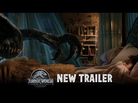 Jurassic World: Fallen Kingdom - Official Trailer #2 [HD]