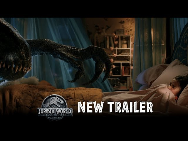 Jurassic World: Fallen Kingdom - Official Trailer #2