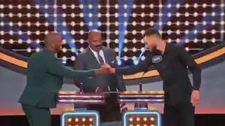 Stephen Curry vs Chris Paul at Family feud highlights