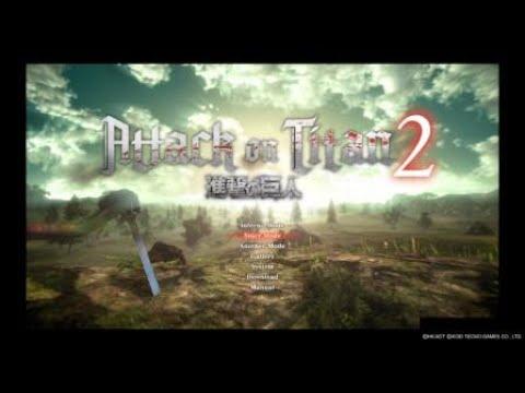 Attack On Titan 2 - Gameplay - Final Nameless Hero