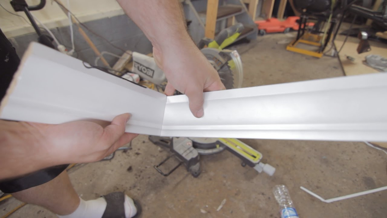 How To Cut Crown Molding Inside Corners You