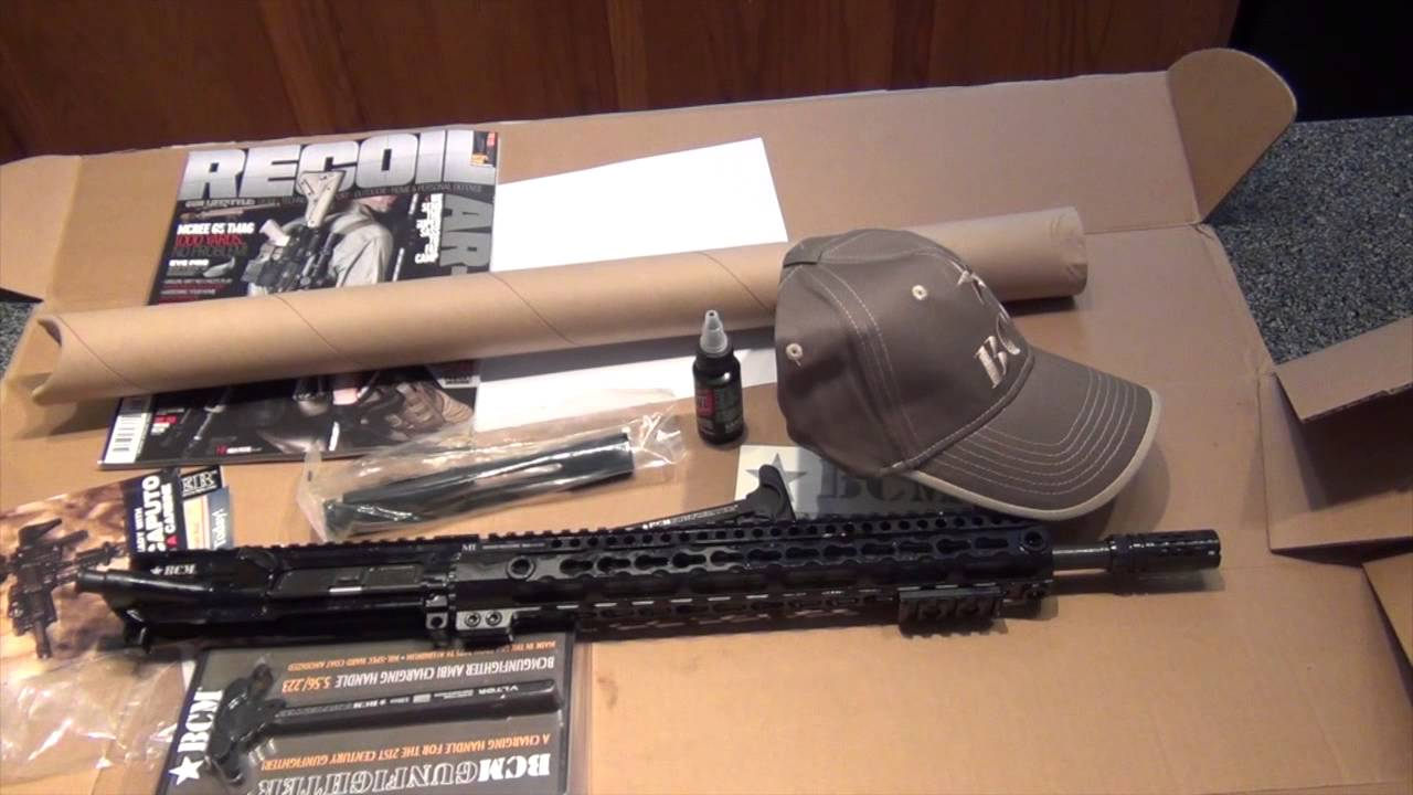 Unboxing the Bravo Company Manufacturing (BCM) mid-lenght lightweight upper