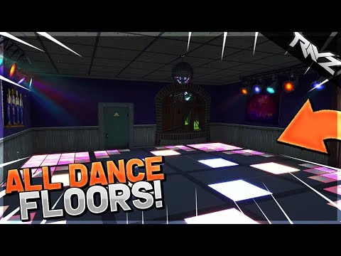ALL DANCE FLOOR LOCATIONS FOR