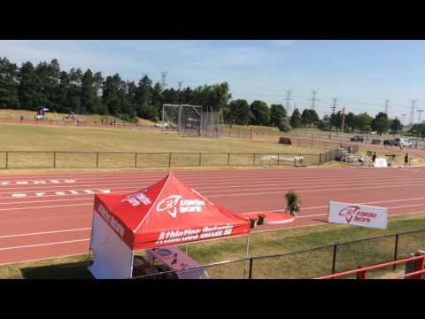 Men 3000m Steeplechase Athletics Ontario Junior Championship 2016