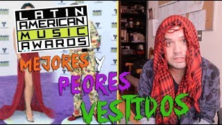 LATIN AMERICAN MUSIC AWARDS: Alfombra Morada // gwabir
