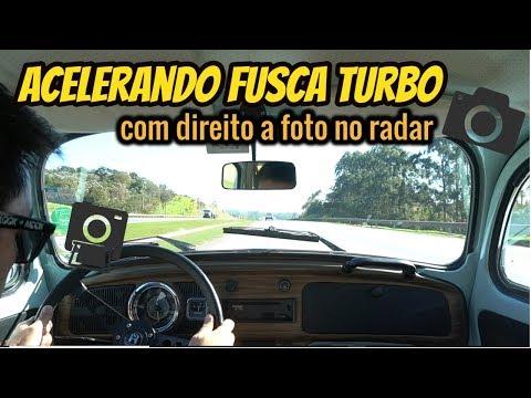 Acelerando Fusca 1.9 Turbo! E será que fomos pego no radar?