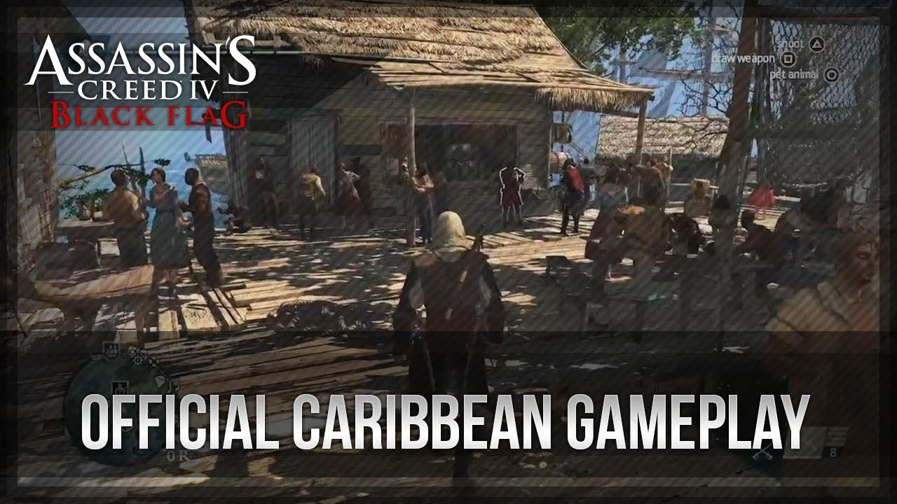 Assassin S Creed 4 Black Flag 13 Minutes Of Caribbean