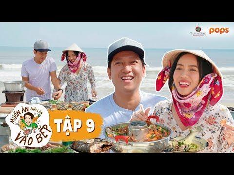 Nhã Phương cùng Trường Giang đại náo chợ Tam Thanh | Muốn Ăn Phải Lăn Vào Bếp