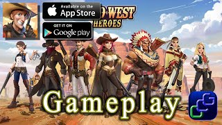 Wild West Heroes Android iOS Gameplay