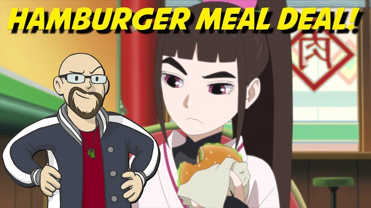 Tsubaki & The Hamburger Meal Deal! - Boruto: Naruto Next Generations Episode 153 Review - YouTube