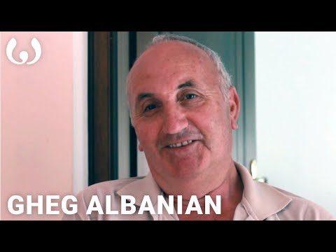 WIKITONGUES: Xheladin speaking Gheg Albanian