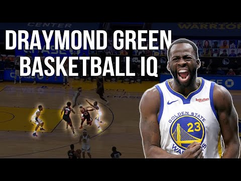 Draymond Green's Basketball IQ takes away Raptors end of game play | NBA Film Room