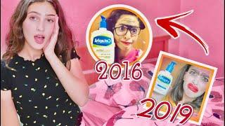 قلدت أقدم فيديو بقناتي 😱 !  النتيجة صدمة Life As Sara