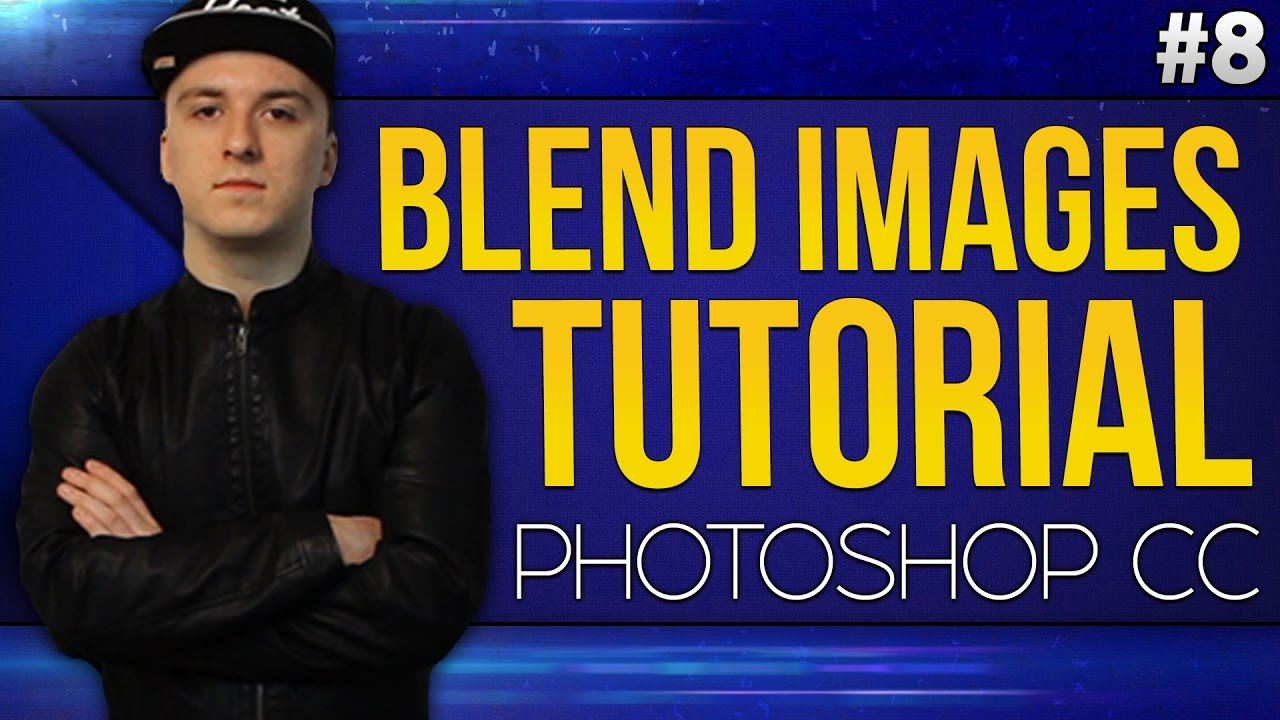 How To Blend Images Together EASILY! - Photoshop CC 2017 ...