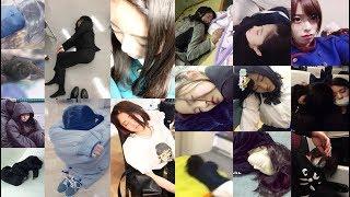 ツアー公式BOOKオフショット用カメラで鈴本美愉がメンバーの誰かに寝顔...