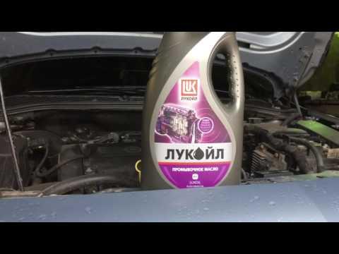Opel Astra j замена масла в двигателе(A16 XER)