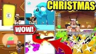 WINTER WONDERLAND, CHRISTMAS PETS AND MORE IN PET SIMULATOR UPDATE! (Roblox)