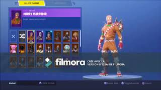 VENDS MY COMPTE FORTNITE SKIN HALOWEEN AND RENEGADE RAIDER SKIN RARE