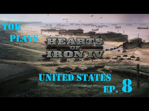Tok plays Hearts of Iron 4 - United States of America ep. 8