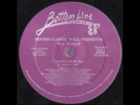 Moore Classic Wall - I Gave You My All