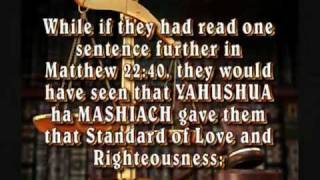 TO LOVE YAH/GOD IS TO OBEY HIS COMMANDMENTS