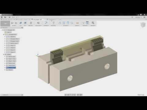 Fusion 360 CAM Fixture Design