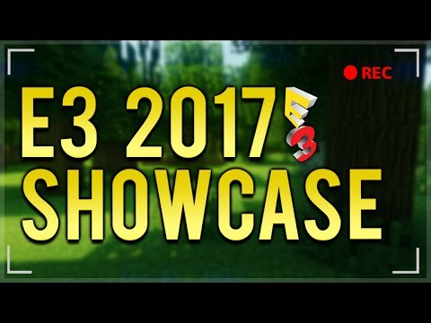 #XboxE3 2017 LIVE SHOWCASE! - Minecraft E3 Servers, Crossplay & Shaders! (XboxE3)