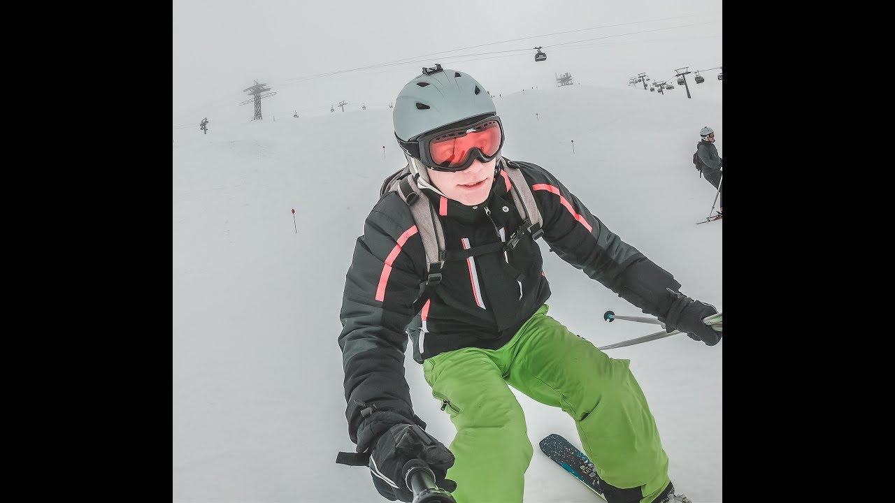 St Anton skiing 4K