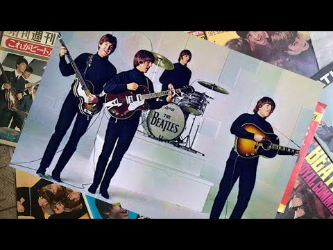 ♫ The Beatles photos filming Help! video 1965