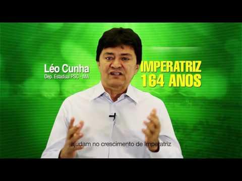 164 anos - HOMENAGEM DO DEPUTADO LÉO CUNHA NO ANIVERSÁRIO DE IMPERATRIZ