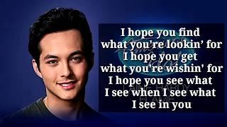 Flame - Laine Hardy lyrics