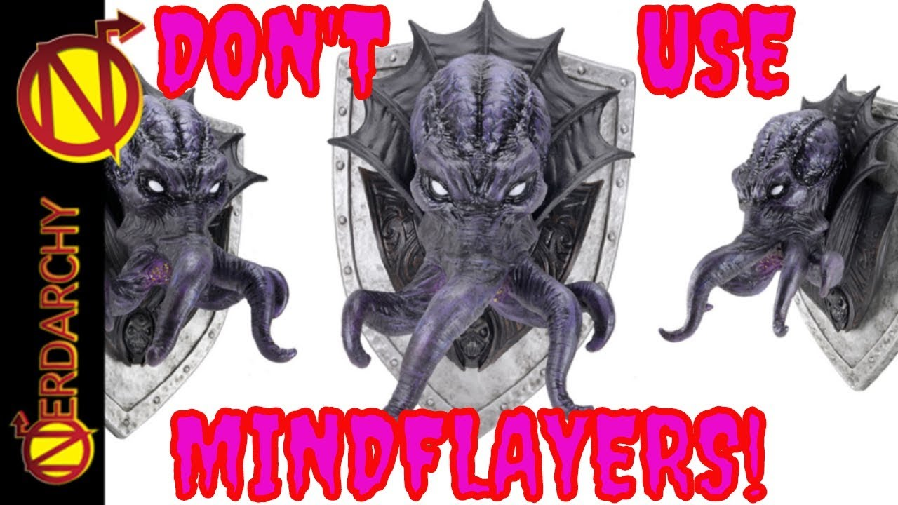 Don't Use a Mindflayer Instead Use This Monster| Dungeons and Dragons  Monsters