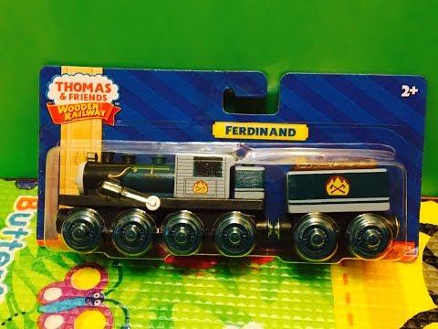 Unpack Fisher-Price Thomas And Friends Wooden Railway Ferdinand (04230)