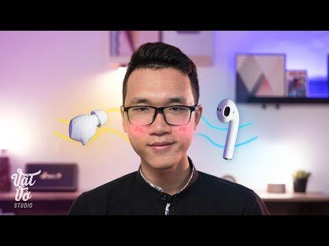 So sánh tai nghe Galaxy Buds và Apple Airpods