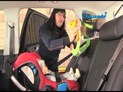 Accesorio espejo retrovisor para viajar en auto con tu for Espejo retrovisor bebe